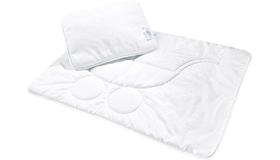 Подушка и одеяло для новорожденного - выбираем с умом