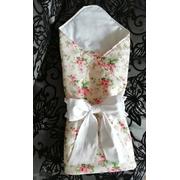 Конверт-одеяло на выписку Цветы РБ