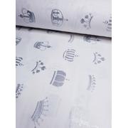 Комплект постельного белья Короны с глиттером