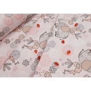 Комплект постельного белья Слоники (розовый)